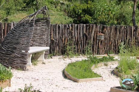 Huerto y jardín renacentista