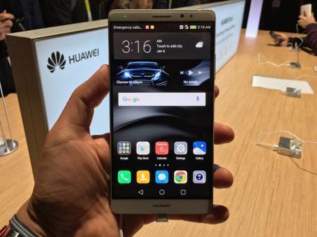 Mate 8, el nuevo buque insignia de Huawei | CES 2016