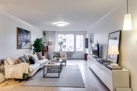tele en saln salon nordico chimenea abierta saln con chimenea librera empotrada estilo nrdico piso estilo