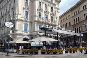 Un café caliente en Viena