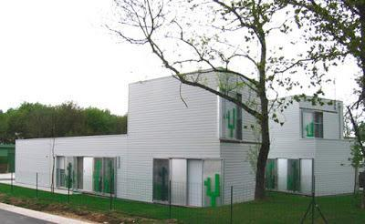 NANTES - WOOD HOUSES