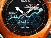 Casio introduce primera smartwach para actividades aire libre rendimiento batería mes: WSD-F10