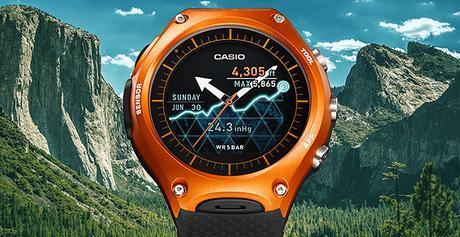 Casio introduce su primera smartwach para actividades al aire libre y rendimiento de la batería de un mes: El WSD-F10