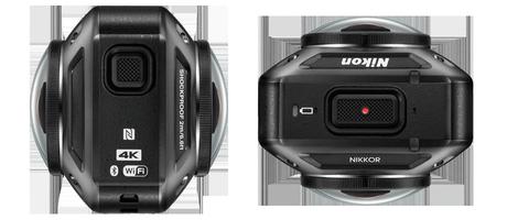 Nikon KeyMission 360, una cámara con características que te permitirán apreciar la realidad virtual