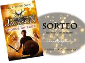 SORTEO Percy Jackson dioses griegos