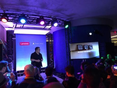 El primer móvil Project Tango será Lenovo y llegará en verano por menos de 500 dólares