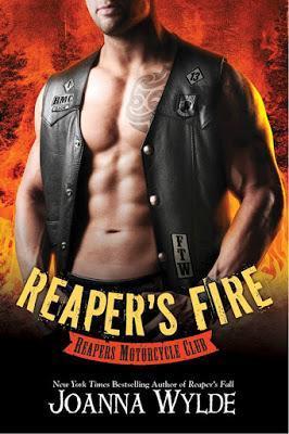 Portada Revelada: Reaper's Fire - Reapers MC #6 - Joanna Wylde