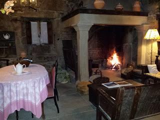 A Fervenza, Casa grande y restaurante (O Corgo-Lugo)