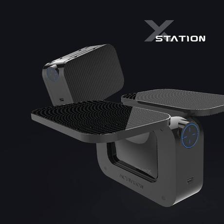 La cámara de acción Activeon Solar X es una unidad que podría cargarse de forma continua gracias a sus paneles solares