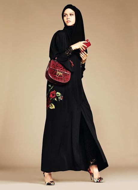 Moda Dolce & Gabanna para mujeres musulmanes.
