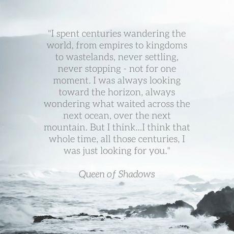Rowan and Aelin - Queen of Shadows: