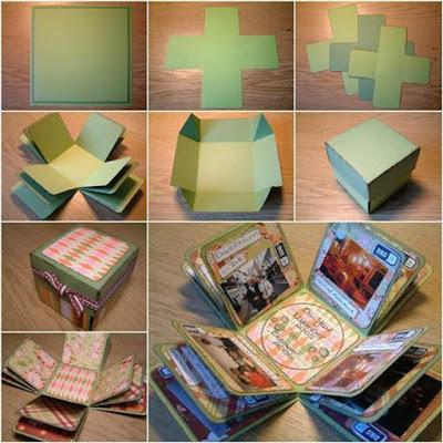 DIY - Album de fotografias Scrapbook