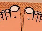 """""""Tengo unos pies perfectos"""": """"hasta ayer sabía nada pies"""""""