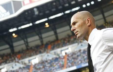 zidane entrenador real madrid