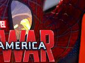 Esta semana veríamos mercancía sobre Spider-Man 'Civil War'