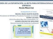 """Presentación """"Ingeniería Exportación"""" Nicola Minervini"""