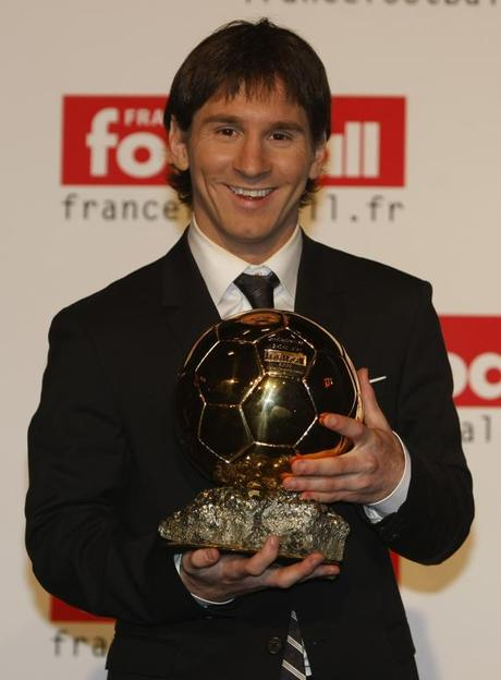 Gala de entrega del Balón de Oro, que adjudica France Football, a Leo Messi.