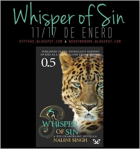 Relectura: Psi Cambiantes | Whisper of Sin #NaliniSingh #PsiCambiantes #RelecturaPsiCambiantes: