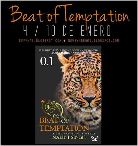 Relectura: Psi Cambiantes | Beat of Temptation #NaliniSingh #PsiCambiantes #RelecturaPsiCambiantes:
