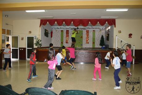entrenamiento niños