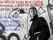 Pinchada homenaje David Bowie Savoy Truffle Macondo.