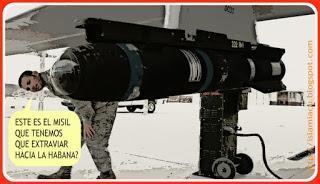 De misil extraviado a misil mediático, y nada inocente