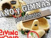 Baño gimnasio para hamsters LIVING WORLD