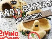 Baño gimnasio para hamsters LIVING WORLD