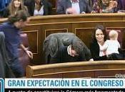 Carolina Bescansa acude Congreso bebé