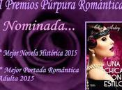 nominaciones Premios Púrpura Romántica