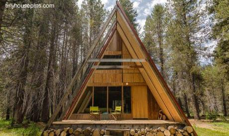 Casas Alpinas Modernas A Frame Houses Paperblog