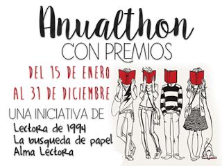 ¡Participo en la #Anualthon (Reto Literario 2016)!