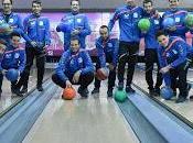 Jesús Velasco diseñó sesión convivencia Movistar Inter bolera Bowling Park