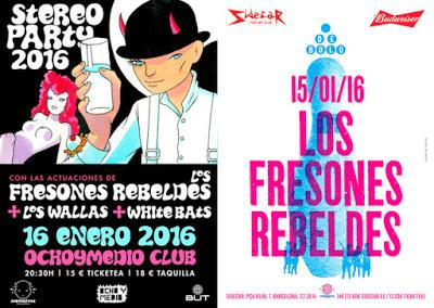 [Noticia] Fin de gira de Los Fresones Rebeldes en Barcelona y Madrid