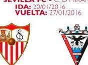 Sevilla enfrentará Mirandés cuartos Copa