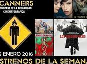 Estrenos Semana Enero 2016 Podcast Scanners