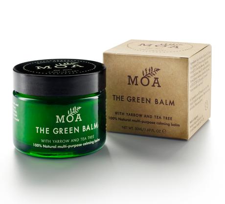 The green Balm de MOA: Un bálsamo natural, para todo...y maravilloso.