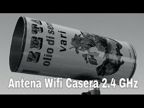 Tutorial como fabricar una antena WIFI casera de  2.4 GHz