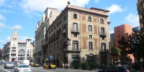Vía Layetana de Barcelona