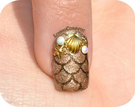 Nail Art - Sea Gold - LadyQueen