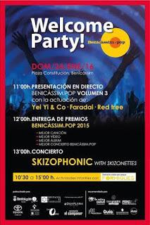 Welcome Party! 2016 by Benicássim pop