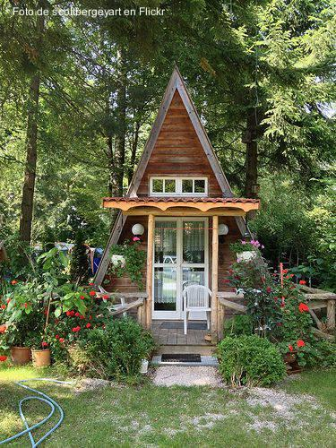 Fotos de casas alpinas paperblog Tiny a frame house