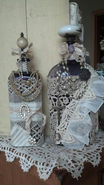 ideas para decorar botellas-eltallerdejazmin