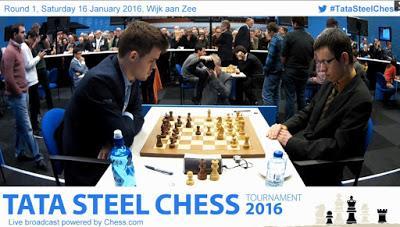 Magnus Carlsen en Wijk aan Zee (Holanda) – Torneo Tata Steel Masters 2016 (I)