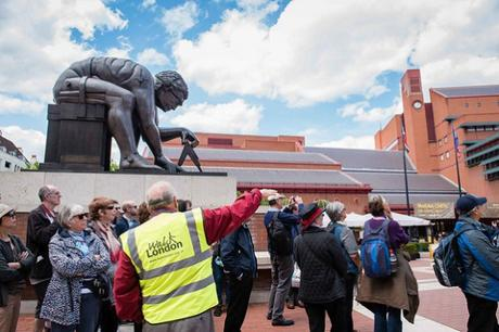 Walk London tour in British Library
