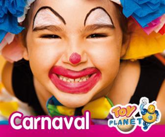 Todo lo que necesitas para Carnaval en Toy Planet