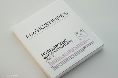 Máscaras faciales de ácido hialurónico de Magicstripes