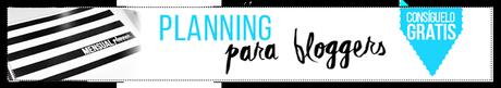 Planning mensual para bloggers
