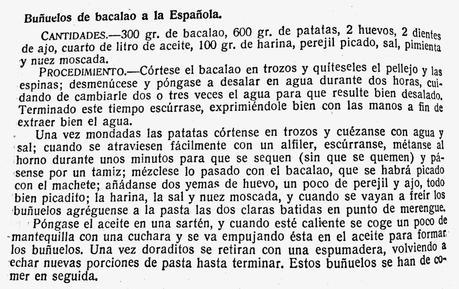 Buñuelos de bacalao a la española
