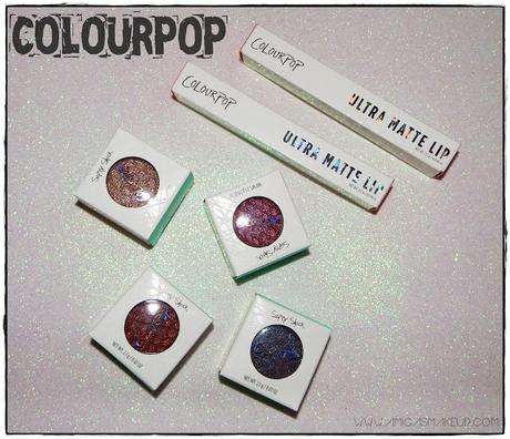 Yo también, Sombras y labiales de ColourPop.